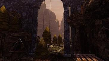 Clastle Game screenshot - cliffs