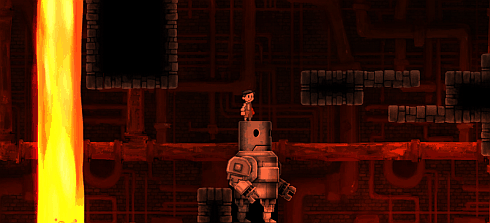 teslagrad game - robot screenshot