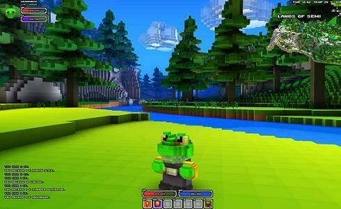 Cube World River