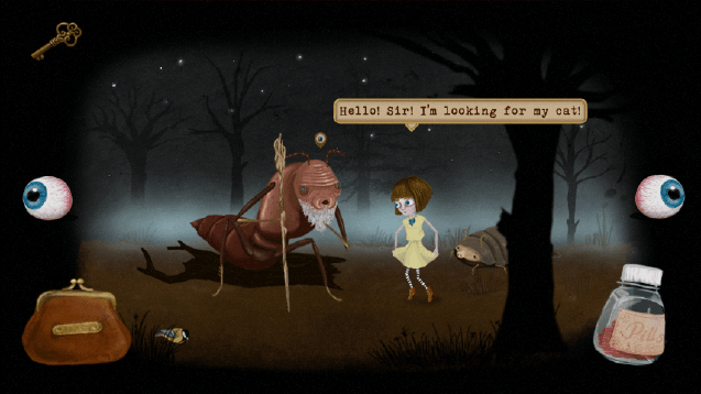 Fran Bow game screenshot