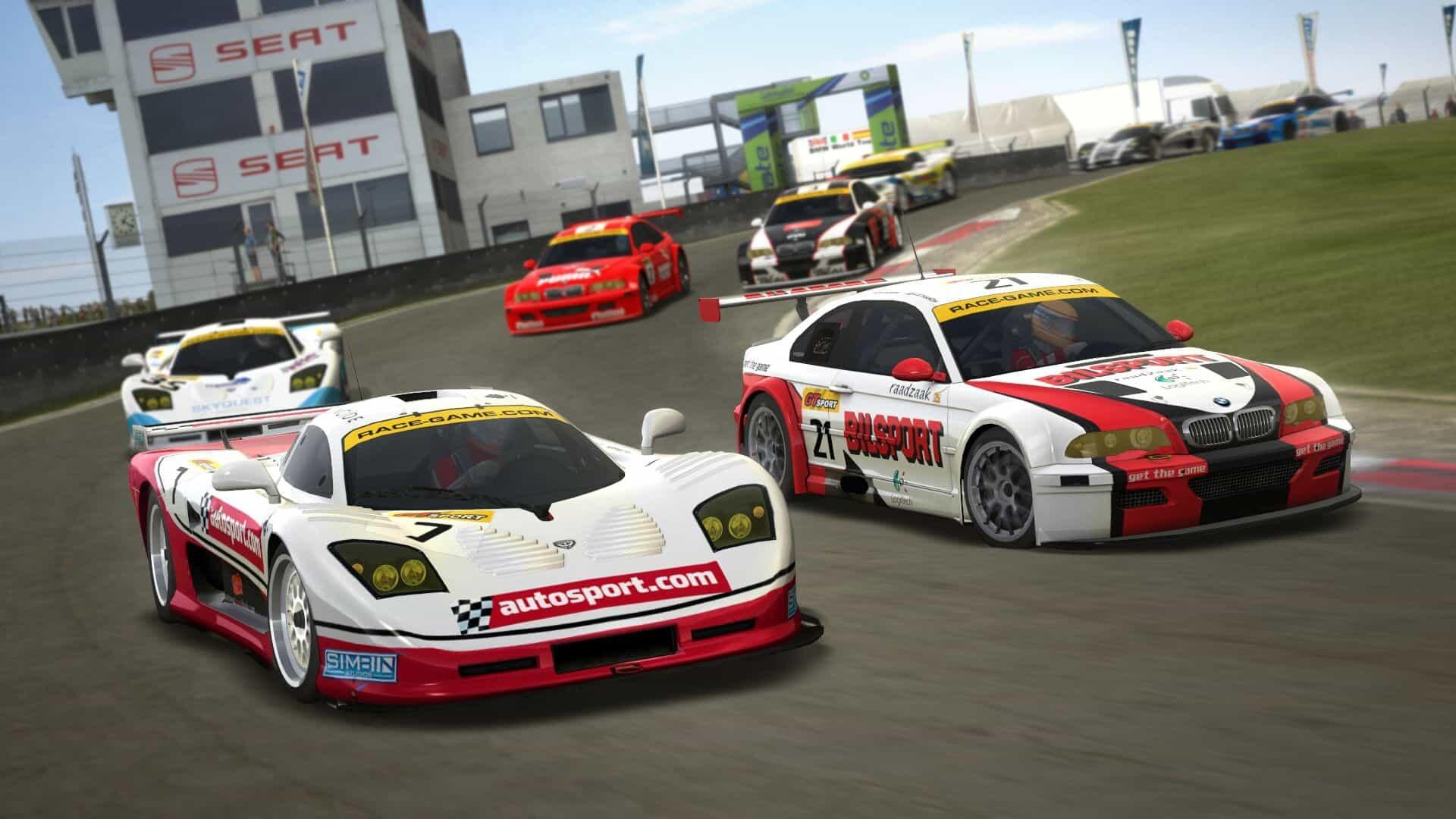 GTR EVO in-game screenshot