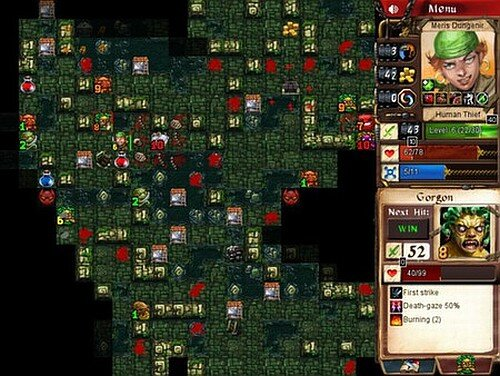Desktop Dungeons revealed level screenshot
