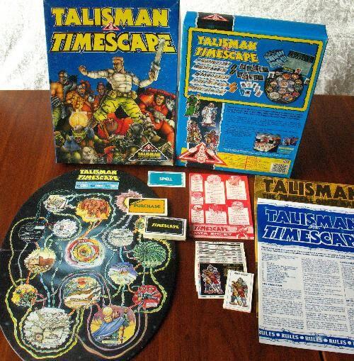 Talisman Timescape - board game
