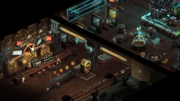 Shadowrun Returns screenshot -