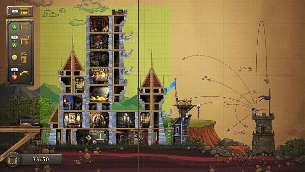 CastleStorm screenshot - castle editor