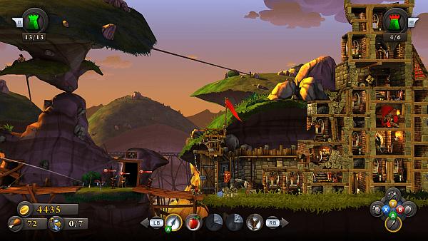 CastleStorm screenshot - pretty battleground