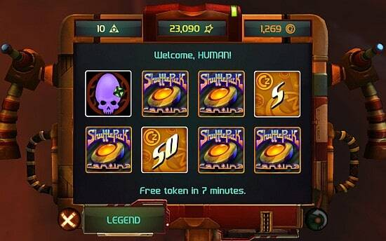 Shufflepuck Cantina Screenshot - Scratch and Win