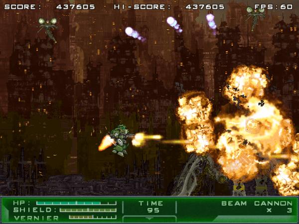Gigantic Army screenshot - explosion