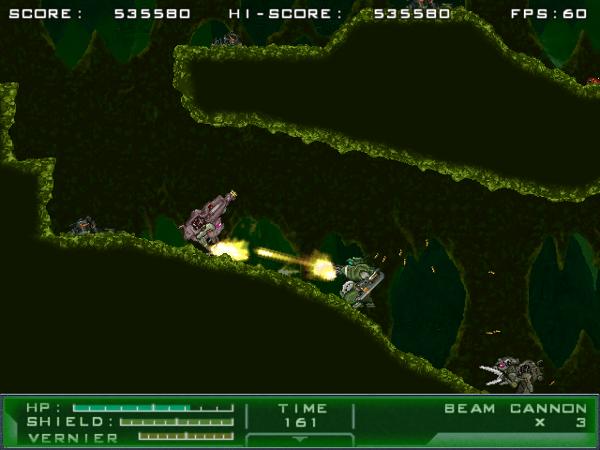 Gigantic Army screenshot - green