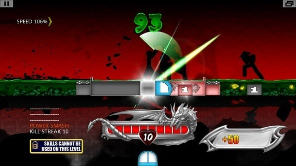One Finger Death Punch, Light Sword Round