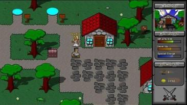 Battlepaths screenshot - village