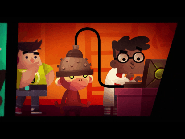 Globlins from Cartoon Network - cutscene screenshot