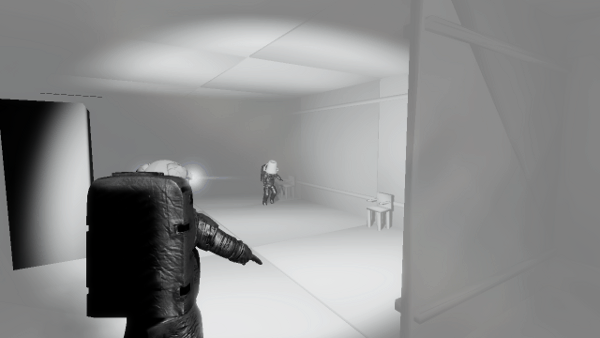 Hippocampal screenshot - white room