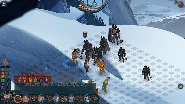 The Banner Saga (turn-based combat)