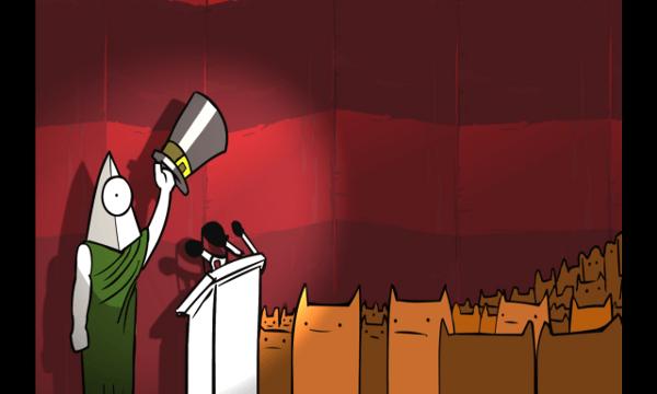 Battleblock Theater screenshot - Cutscene