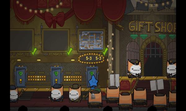 Battleblock Theater screenshot - Hub Area