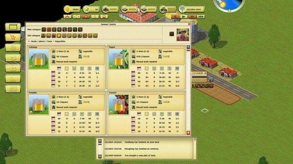 Farming World, buying crops