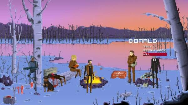 Gods Will Be Watching screenshot  - forest kill