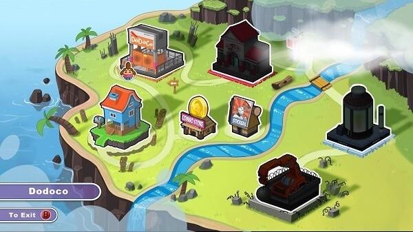 SCM Overworld map