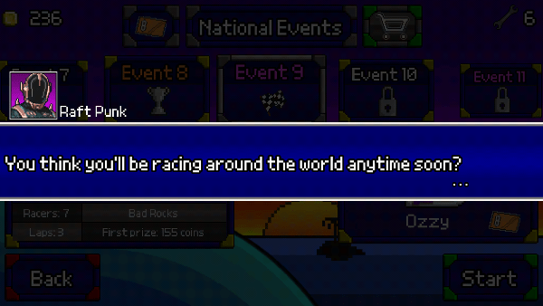Pixel Boat Rush screenshot - Raft Punk