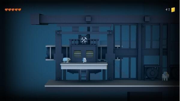 Triera, game screen