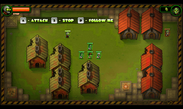 I, Zombie screenshot - Controls