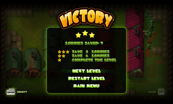 I, Zombie screenshot - Victory