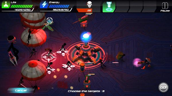 Tesla Wars II screenshot - Redness