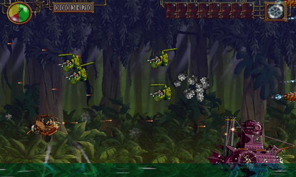 Steam Bros 2 screenshot - Jungle
