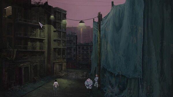 Dead Synchronicity screenshot 3 downtown