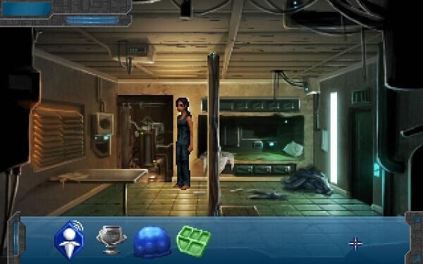 Technobabylon: Latha Sesame's apartment