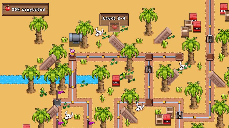 Squishy screenshot - Map