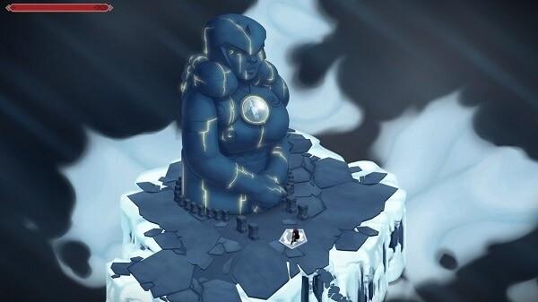 Jotun, goddess statue