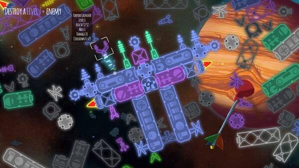 Captain Forever Remix: screenshot courtesy of Steam