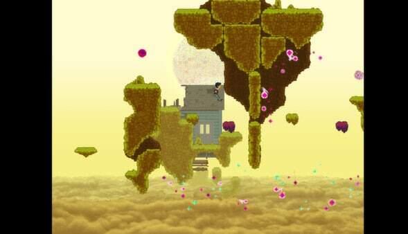 Disorder screenshot - mustard clouds