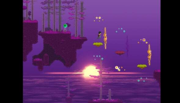 Disorder screenshot - purple forest