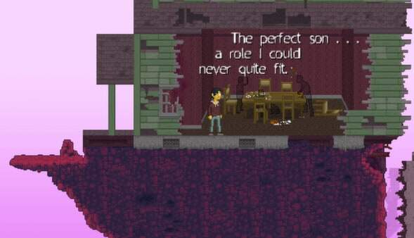 Disorder screenshot - writing on the wall