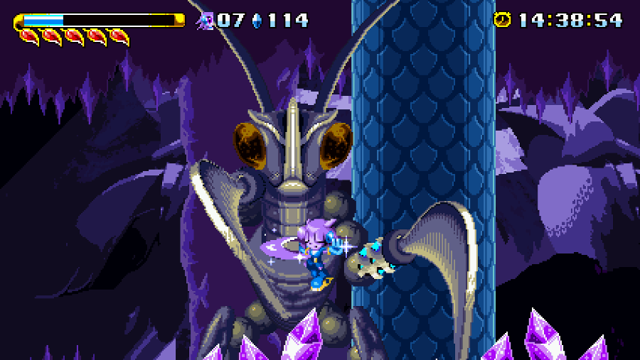 Freedom Planet screenshot - Lilac
