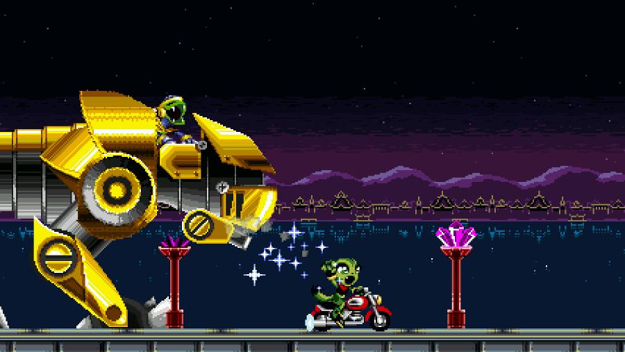 Freedom Planet screenshot - Miniboss