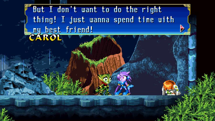 Freedom Planet screenshot - Narrative