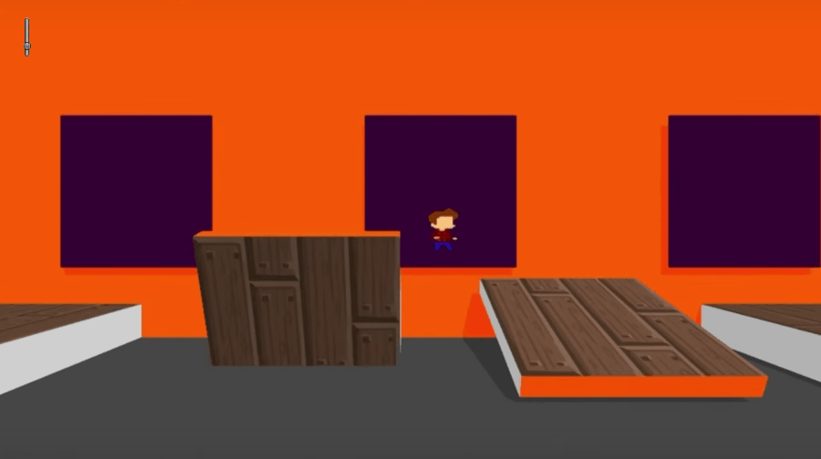 Super Hipster screenshot - Orange