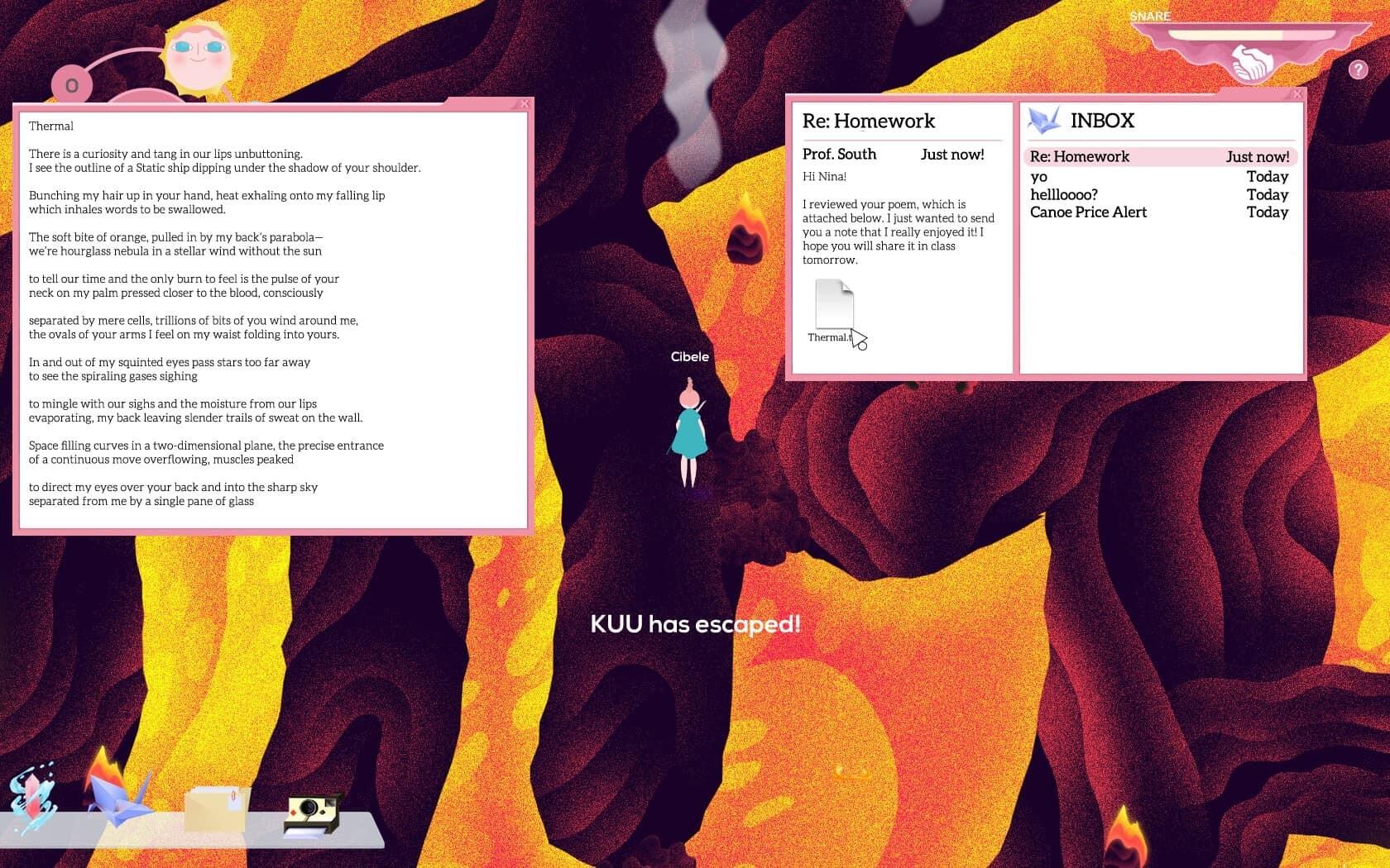 review of Cibele - third act screenshot