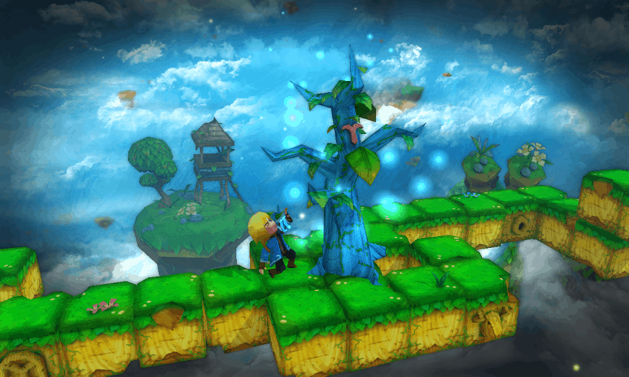 Almightree screenshot - Tree Healin'