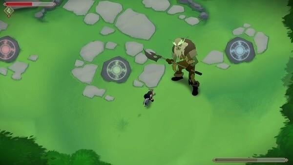 Jotun: an undead creature from the barrow mound
