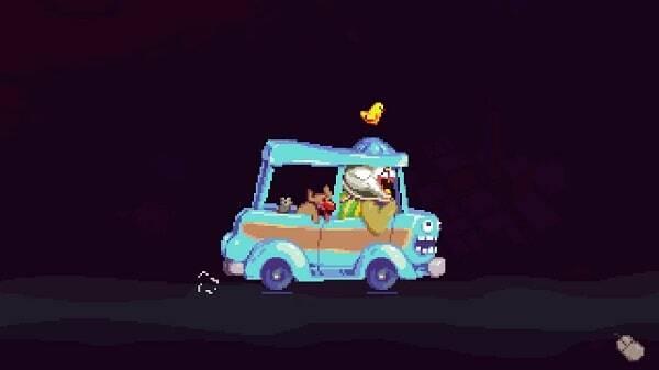 Dropsy, driving a clown car