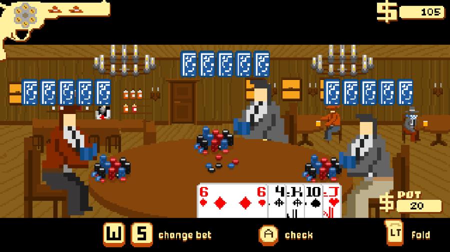 Westerado screenshot - Poker