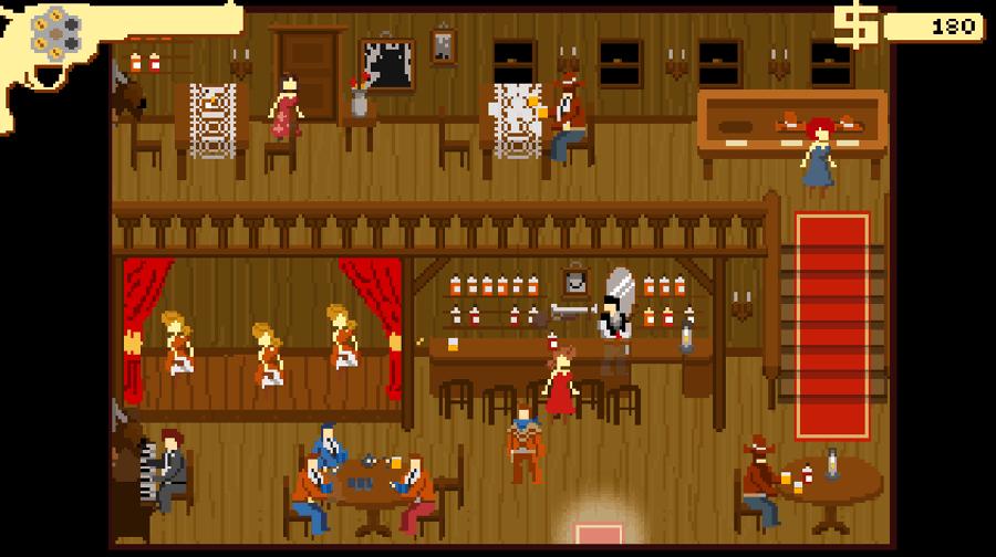 Westerado screenshot - Saloon