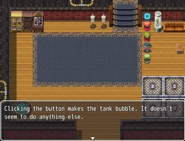 RPG Maker MV screenshot in town