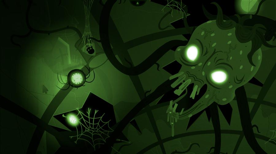 Bulb Boy screenshot - Spider