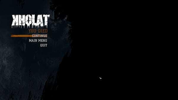 Kholat game screenshot - Death Is Always A Step Away